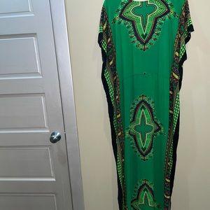 Vintage Island Kaftan Dress